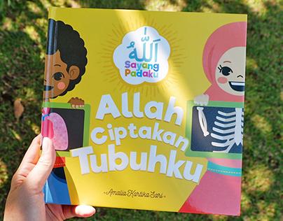 Muslim Children Book : Allah Ciptakan Tubuhku