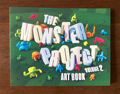 The Monster Project Art Book Cover