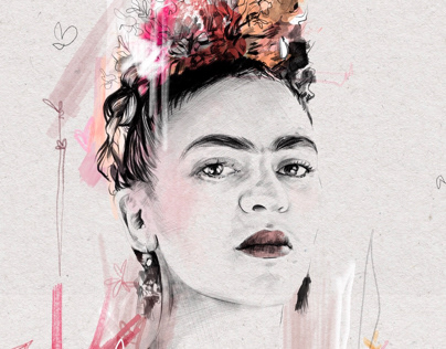 """Mes"" Frida Kahlo"