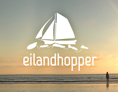 Eilandhopper - logo & webdesign