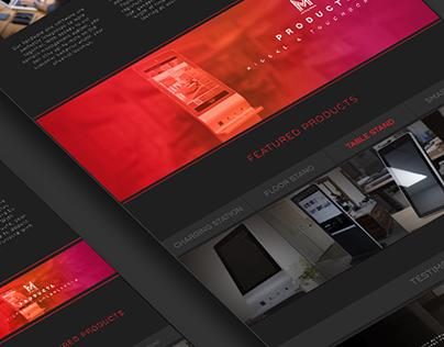 Metric Media Web Design