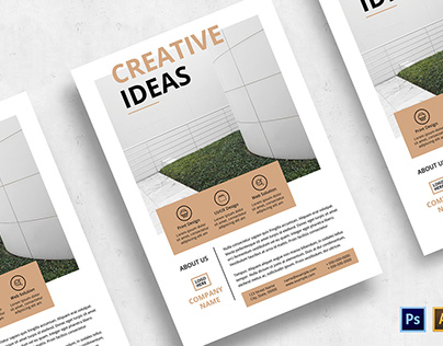 Minimalist Business Flyer-v02