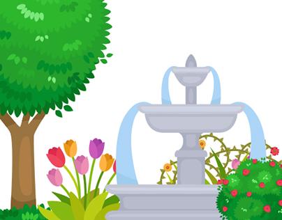 Garden Park Elements