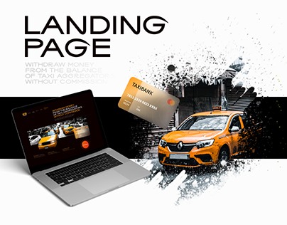 Landing Page - TaxiBank