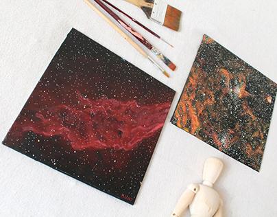 California Nebula & Spider Nebula