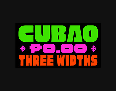 Cubao Free — Display Typeface