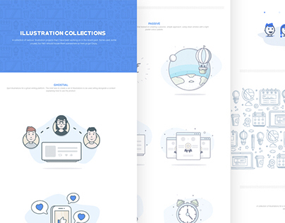 Collection of Product Illustrations