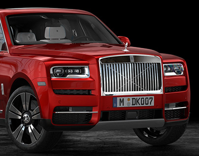 Rolls-Royce Cullinan | Automotive CGI