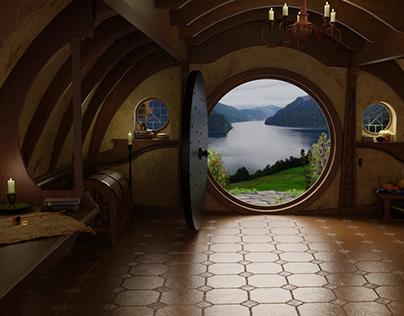 Bilbo Baggins Hobbit-Hole