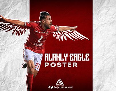 AL Ahly Eagle Poster