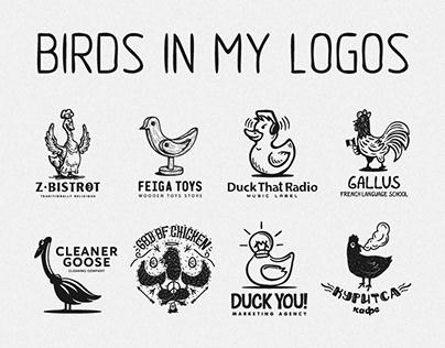 Birds in my logos