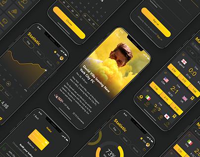 Golden Ball - Mobile App For Sports Betting