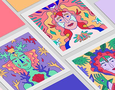 Floral portraits / Couleurs du Printemps