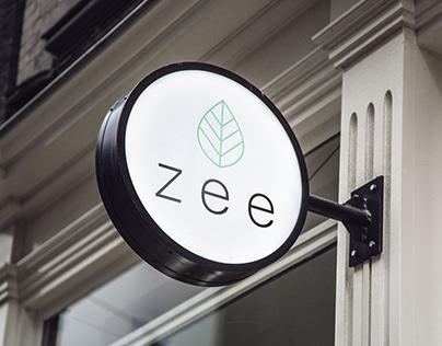 Zee - Healthy Food Delivery - Branding