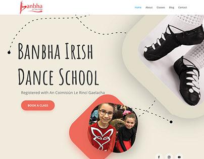 Banbha Irish Dance School Website