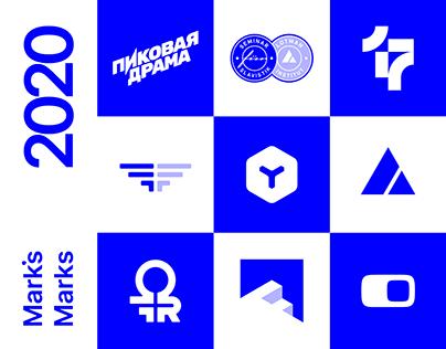 Mark's Marks 2020 — Logofolio