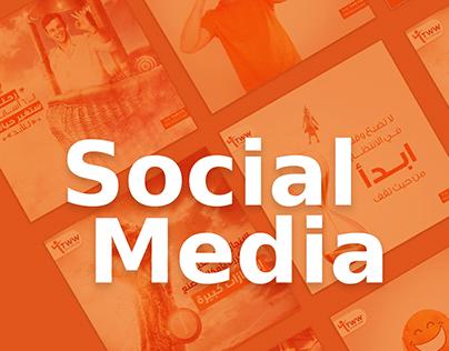 Social Media Designs - TWW