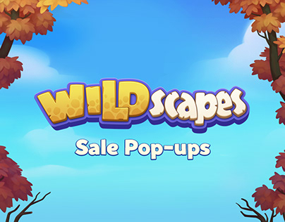 Sale Pop-ups for Wildscapes