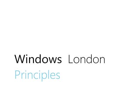 Windows London Principles
