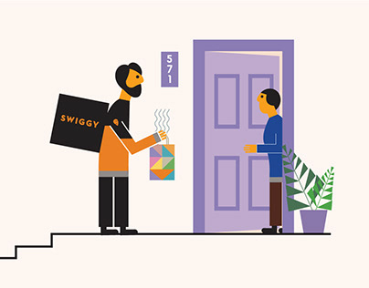 Swiggy: Illustration Refresh