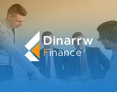 Dinarrw Finance Brand identity Design