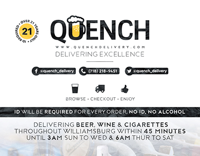 Quench Delivery Service Poster