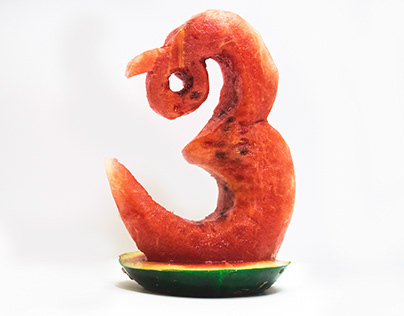 The Watermelon Script - 2D to 3D Type Exploration