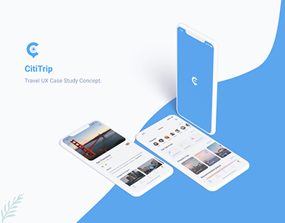 Travel App - UX Design Case Study.