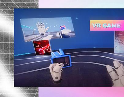 VR game. Pharmaceutical Mobile Museum