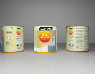Taubmans Paint Packaging