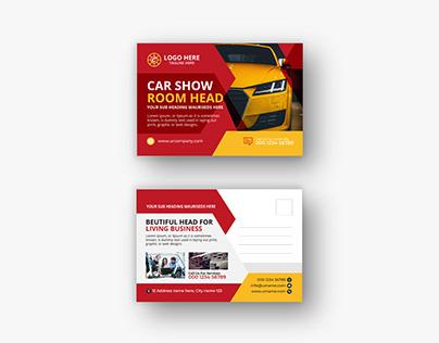 Car Modern Postcard or eddm Postcard design