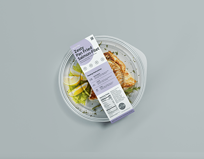 Vibrant Meals - Packaging Re-design