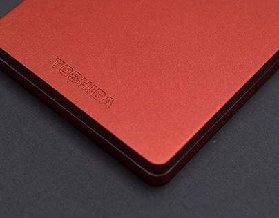 Toshiba Storage Website Design