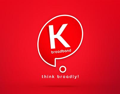 Logo Design for Broadband Service Provider