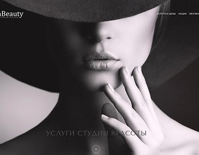 Design website for La Beauty
