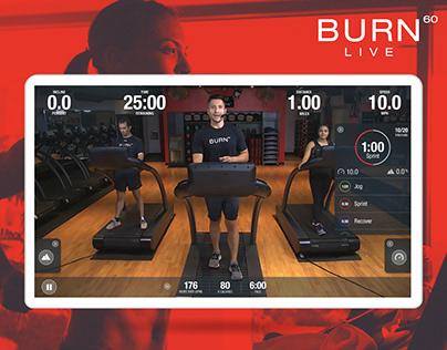 Burn 60 Live | UX/UI