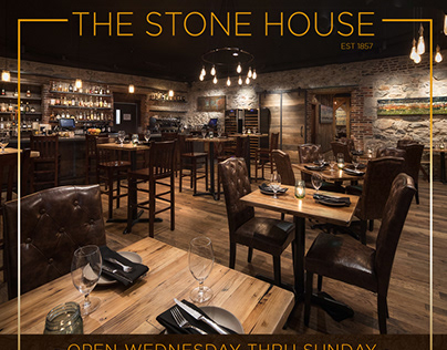 THE STONE HOUSE: IN-HOUSE DESIGN   BRANDING   MARKETING