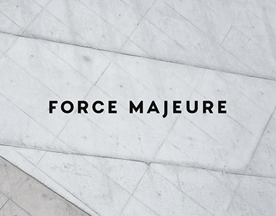 Force Majeure — Minimalist Fashion Brand