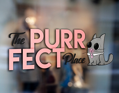 Logo e Mascotte - The Purrfect Place