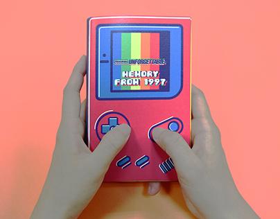 GAME BOY: Visualizing childhood's memory