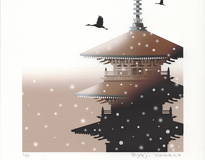 Snow of ancient capital