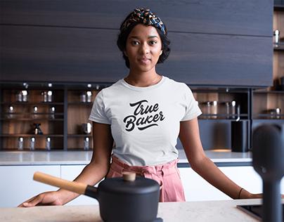 True Baker - Logo for bakery in Los Angeles