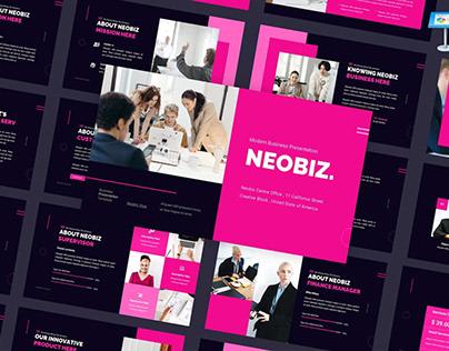 Neobiz - Modern Presentation Template