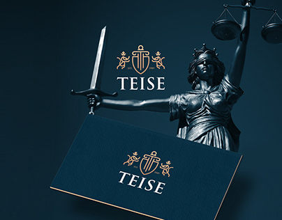 Teise - Law Firm visual identitfication