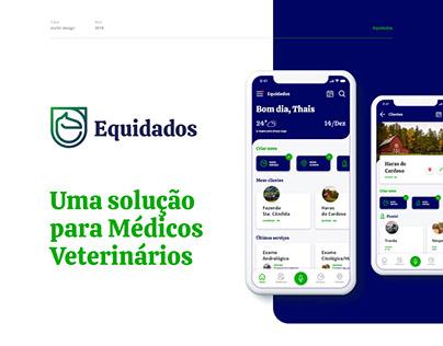 Equidados - UX/UI - Uma solução para Veterinários