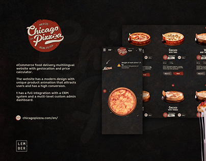 eCommerce food delivery website