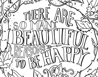 Inspirational Quotes :: Downloadable Colouring Pages