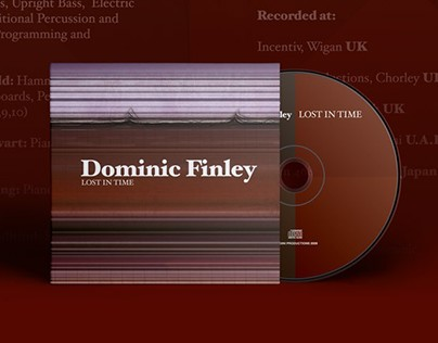 CD Sleeve For Dominic Finley: Lost in Time