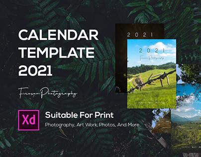 Calendar Template 2021
