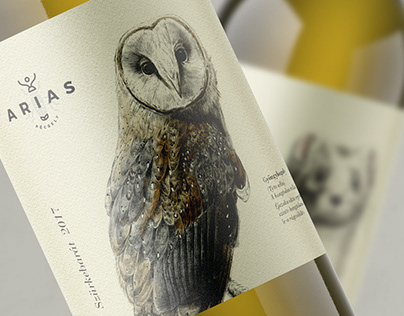 Arias Winery - branding & wine labels design